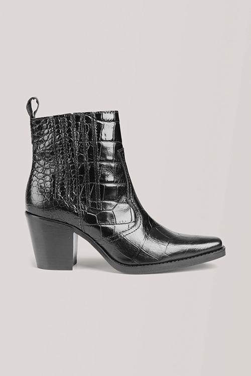 Ganni Callie Ankle Boots Black sko