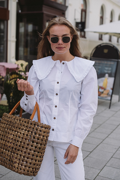 Cotton Poplin Shirt Bright White
