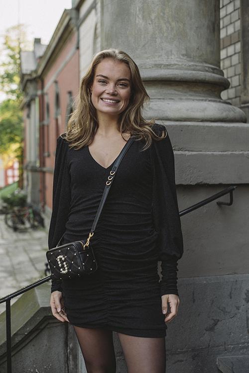 Gestuz Chaia Slim Dress Black kjole
