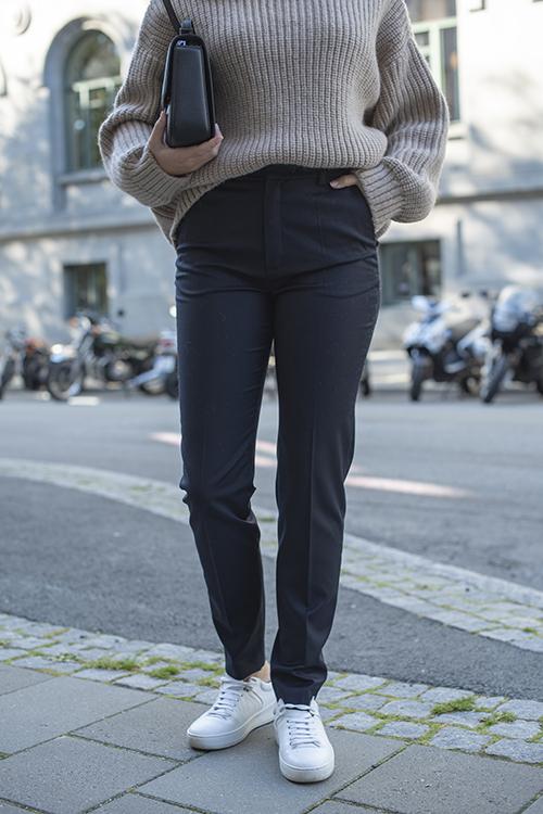 Gestuz Margrethe Pants Navy dressbukse