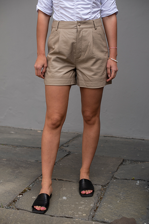 Nioa Hw Shorts Pure Cashmere