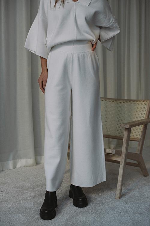 Gestuz Talli MW Culotte Egret bukse