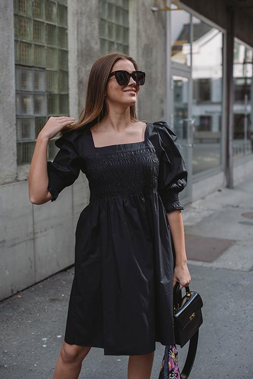 Gestuz Lena Dress Black kjole