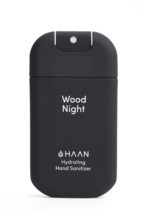 Pocket Sanitizer Wood Night