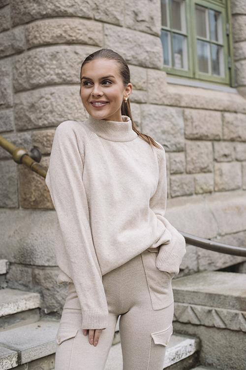 Flyndre Knit Sweater Sand