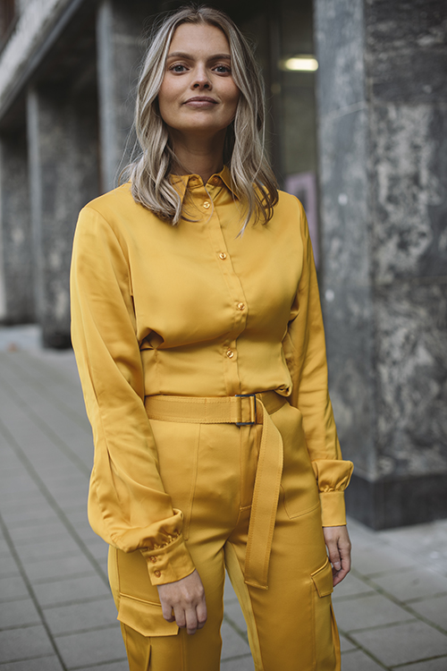 Holzweiler Halitt Shirt Yellow bluse