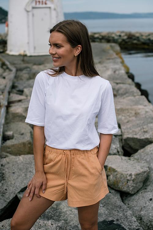 INK Heidi T-shirt White t-skjorte