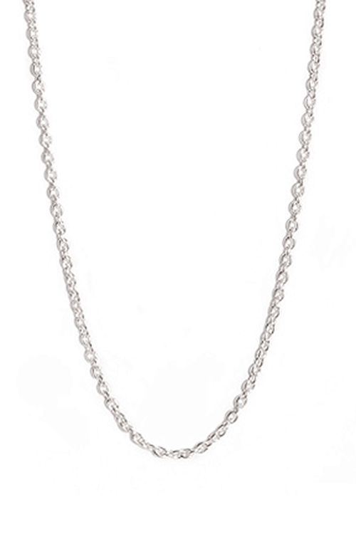 Anchor Chain Silver 60 cm