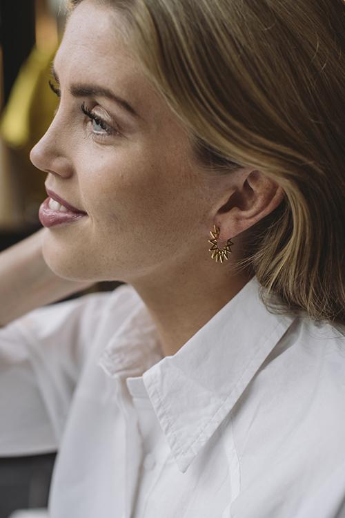 Little Sun Earrings Gold