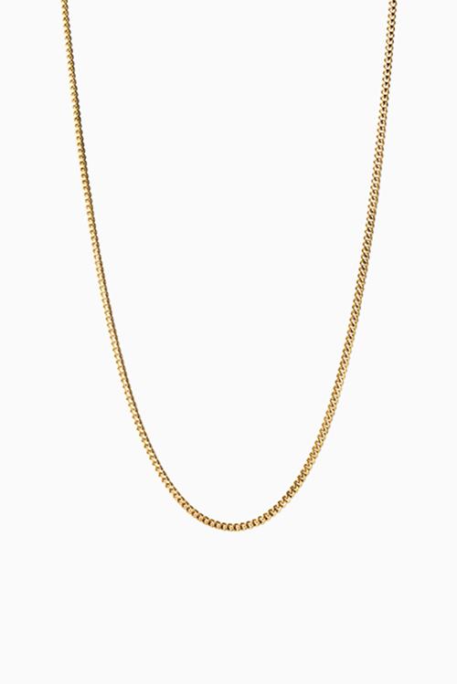 Jane Konig Curb Chain 40cm Gold halskjede
