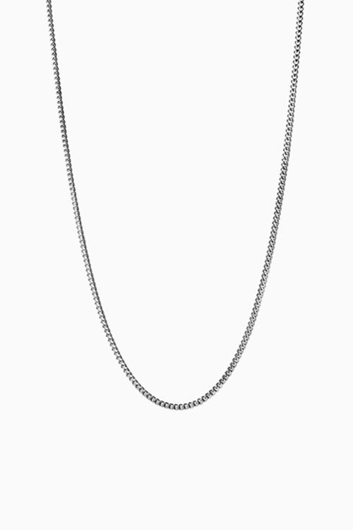 Jane Konig Curb Chain 40cm Silver halskjede