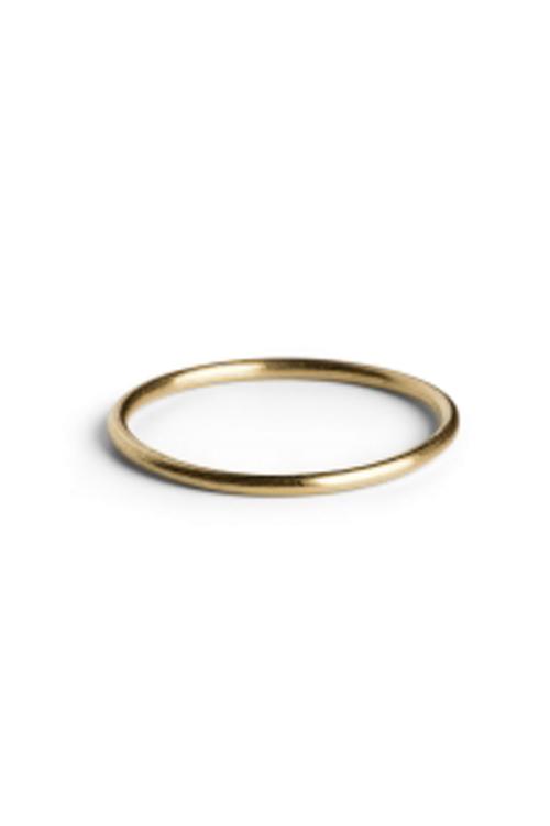 Jane Kønig Simple Ring Gold