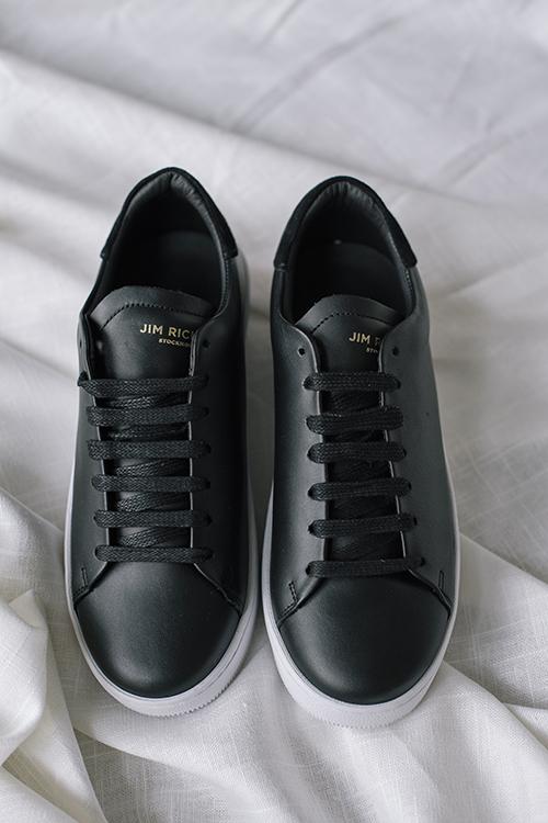 Jim Rickey Deuce Court Sneakers Black joggesko sko