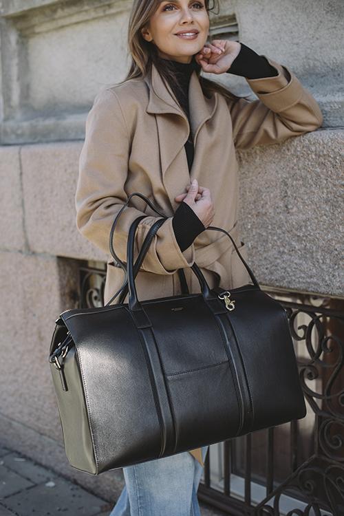 Jim Rickey Evelinn Bag Black weekend bag