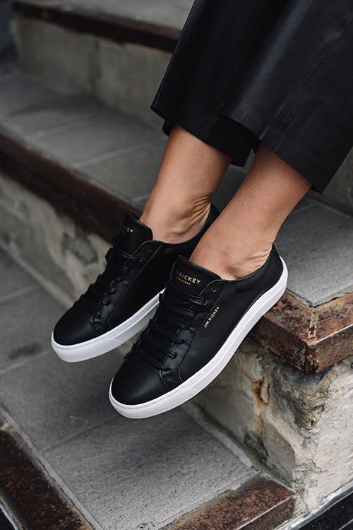 Jim Rickey Spin Sneakers Black sko