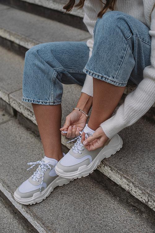Sprint Mesh Sneakers White