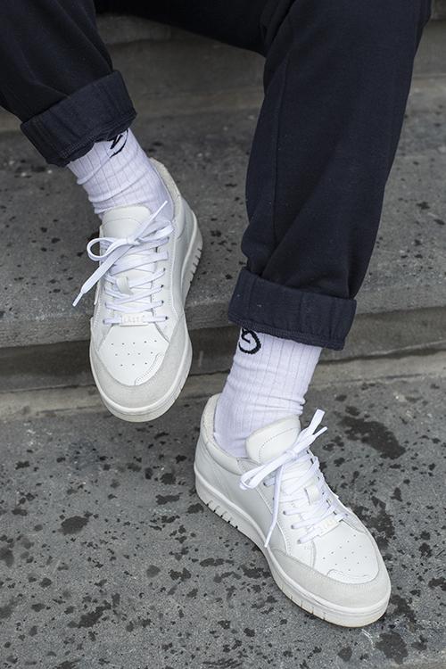 B-Ball Sneakers White