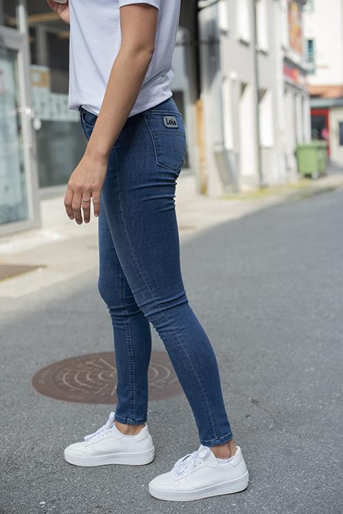 Lois Celia Leia Teal Stone jeans