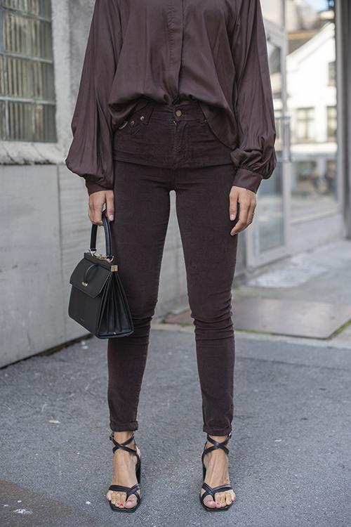 Lois Celia Micro Vintage Choco bukse
