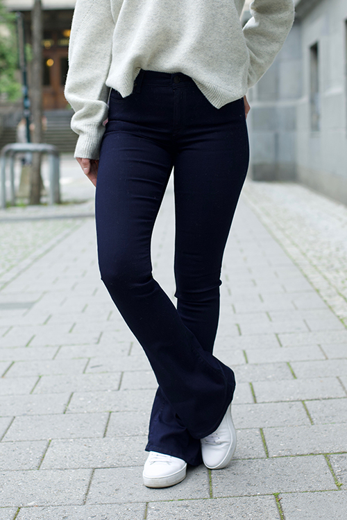 Replay Stella Flare Dark Blue jeans