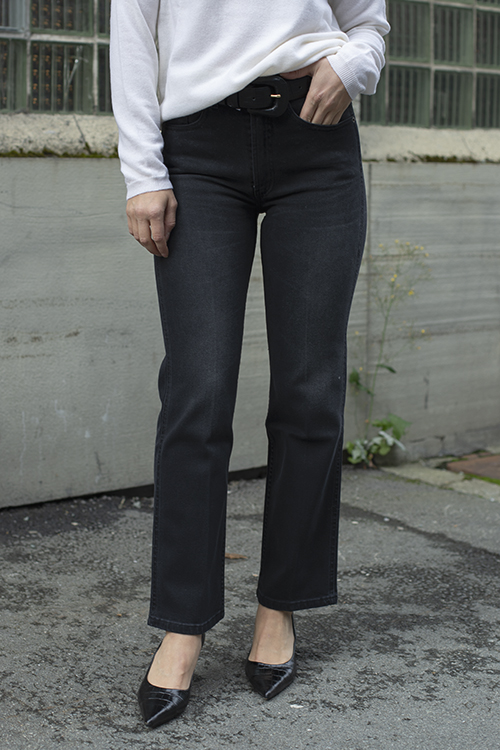 Lois River Simon Night Black Stone jeans