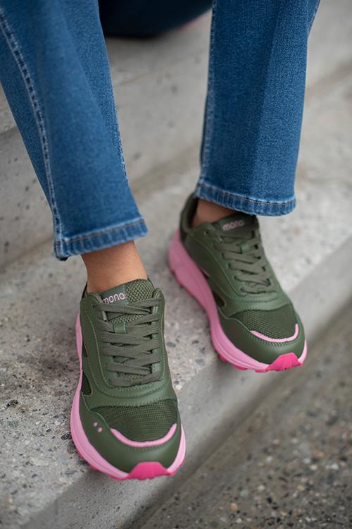 MONO Flow Olive Prism sneakers sko