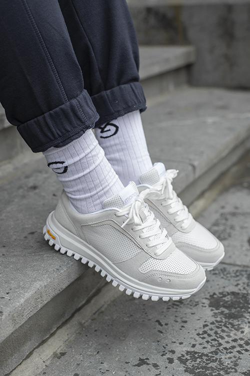 Mono Prime Sneakers All White
