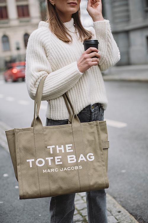 Traveler Tote Bag Slate Green