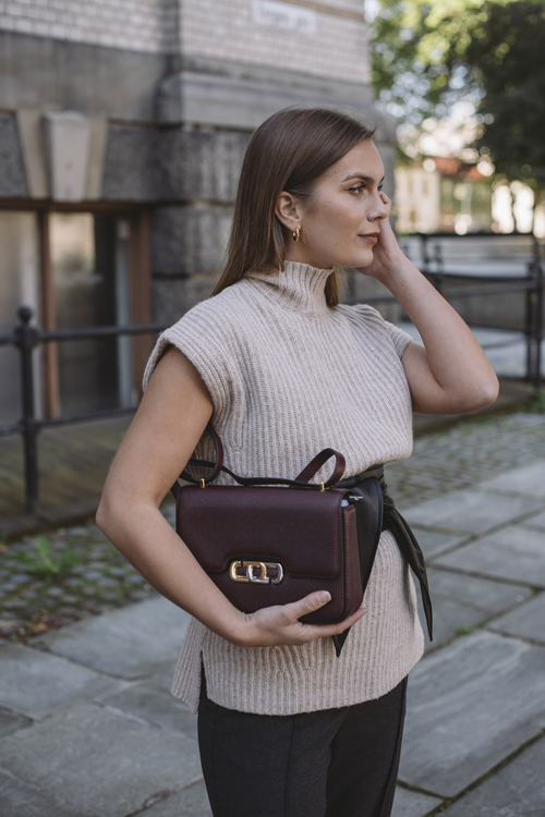 The J Link Shoulder Bag Muscat