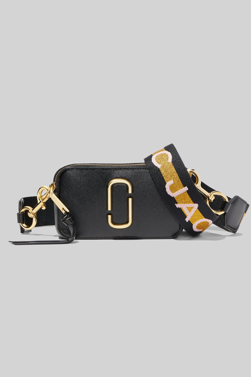 Marc Jacobs The Logo Strap Snapshot New Black Multi veske