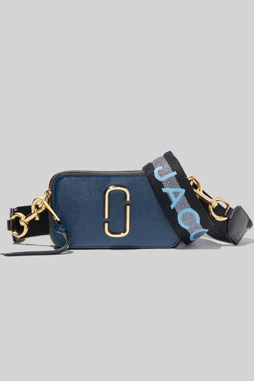 Marc Jacobs The Logo Strap Snapshot New Blue Sea Multi veske