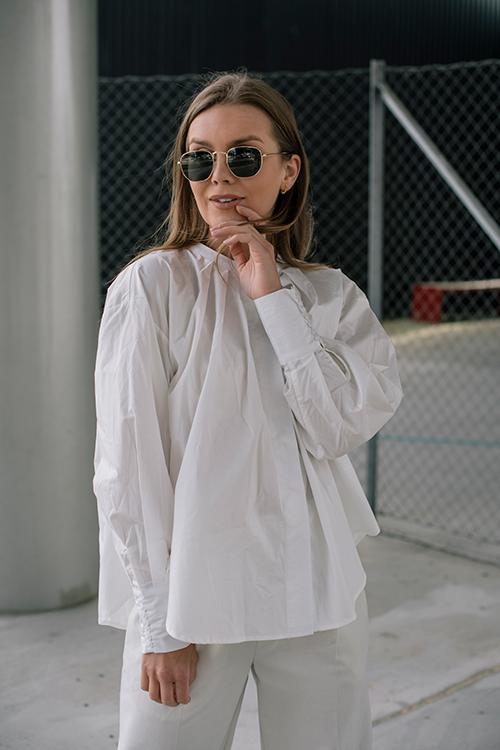 One&Other Sala Shirt Off white skjorte