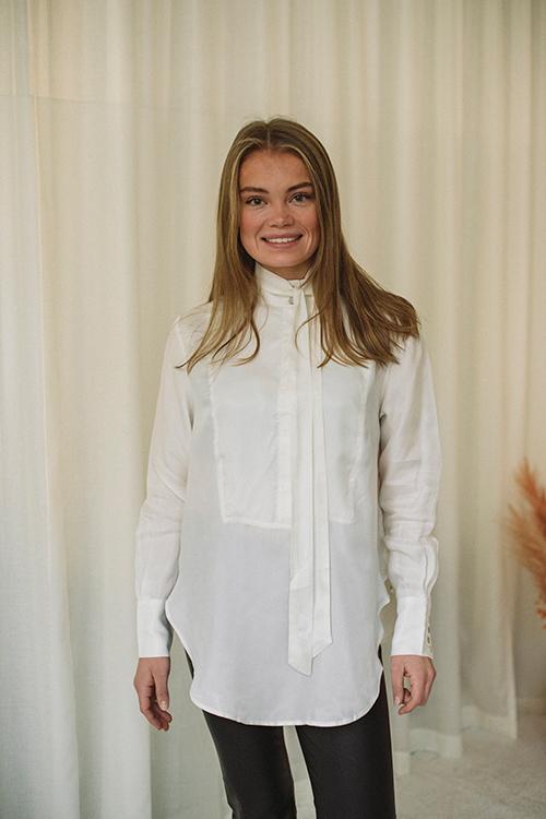 Tuxedo Shirt Off White