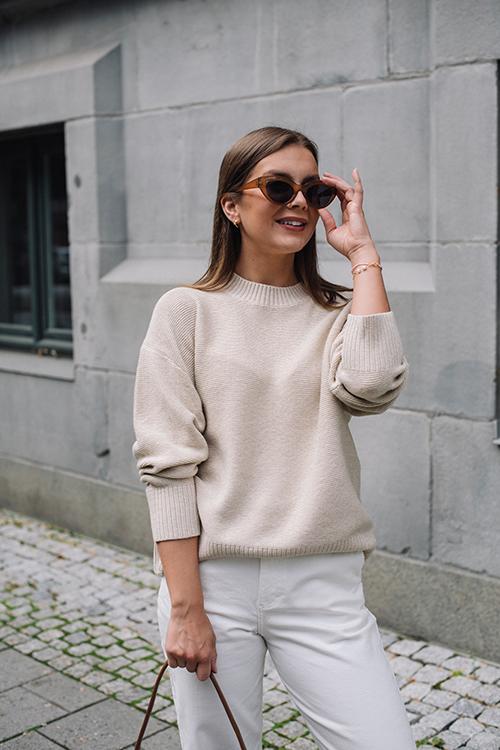 Jessie Sweater Lt Beige
