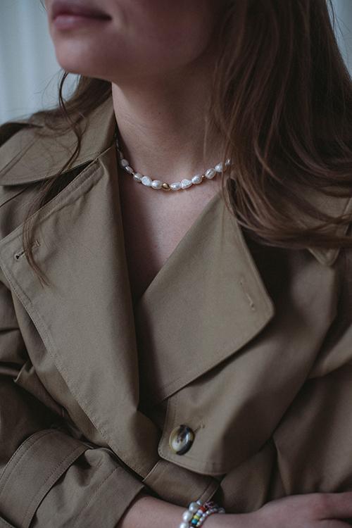 Sofia Necklace White