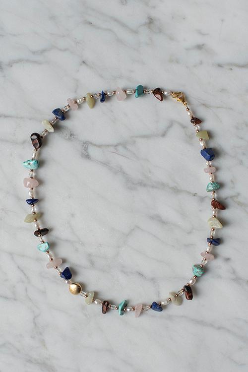 Petit Perles Lulu Necklace Multi smykke