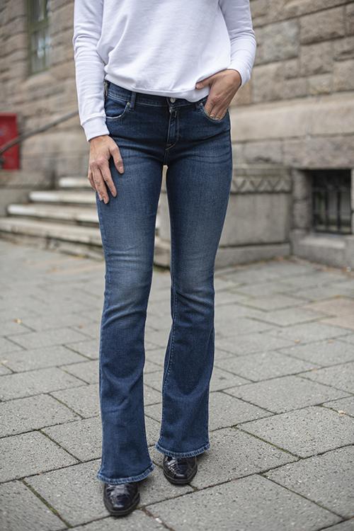 Replay Stella Flare Blå jeans