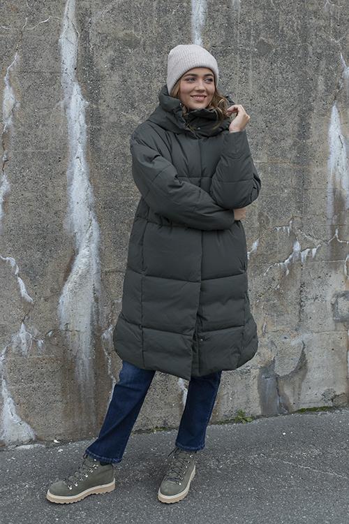 Scandinavian Edition Swell Dark Olive jakke