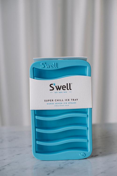 S`WELL Super Chill Ice Tray Blå isbitform