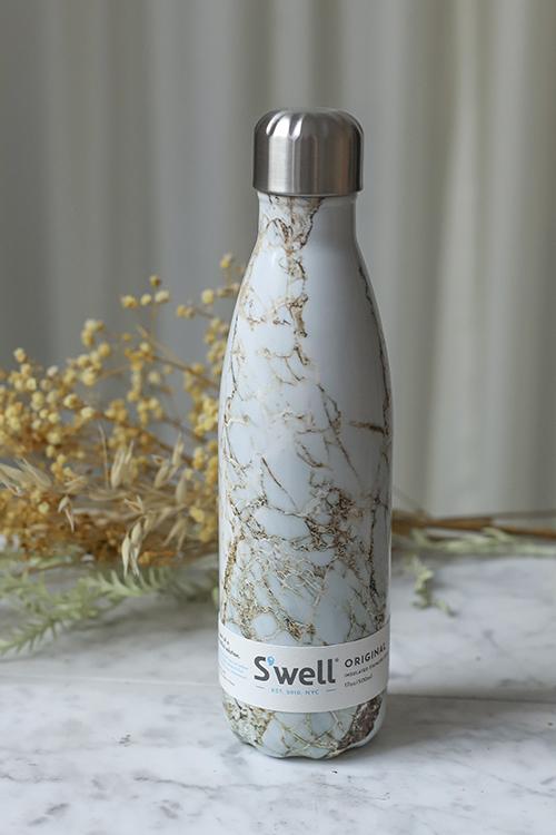 S´well Calacatta Gold 500ML drikkeflaske