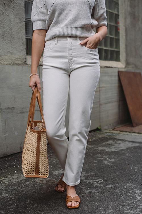 Teresa Regular Jeans Ecru